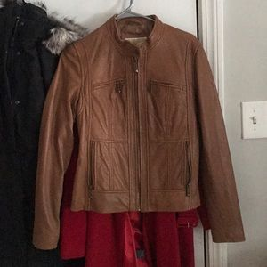 Michael by michael kors leather jacket